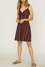 Sanctuary Take Away Tie Dress Multi Stripe