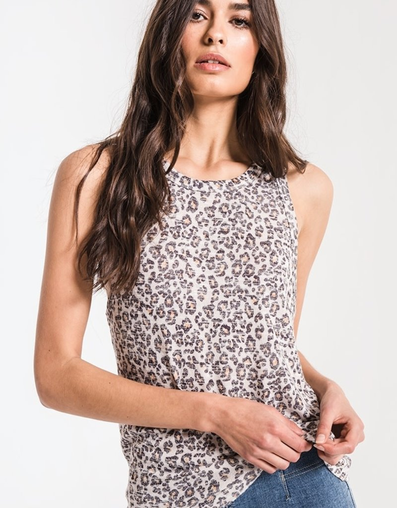 Z Supply Leopard Muscle Tank
