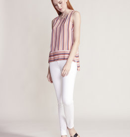 Jack One Last Time Stripe Tank Top Pink