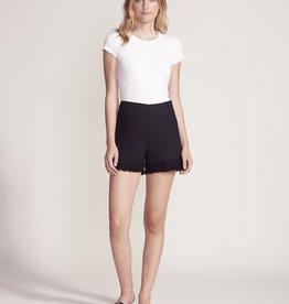 Figaro Ruffle Shorts Black