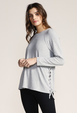 Jack Side Lace Sweater Ivory