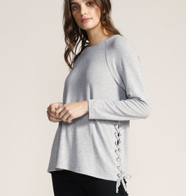 Jack Side Lace Sweater Ivory
