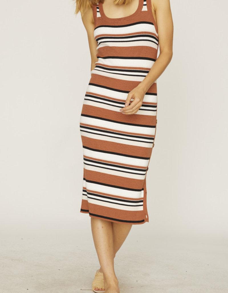 Sanctuary Sheyna Sweater Dress Stripe