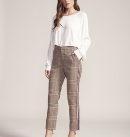 BB Dakota Sport Stripe Plaid Pant Brown