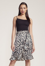Jack In The Wild Leopard Skirt Green