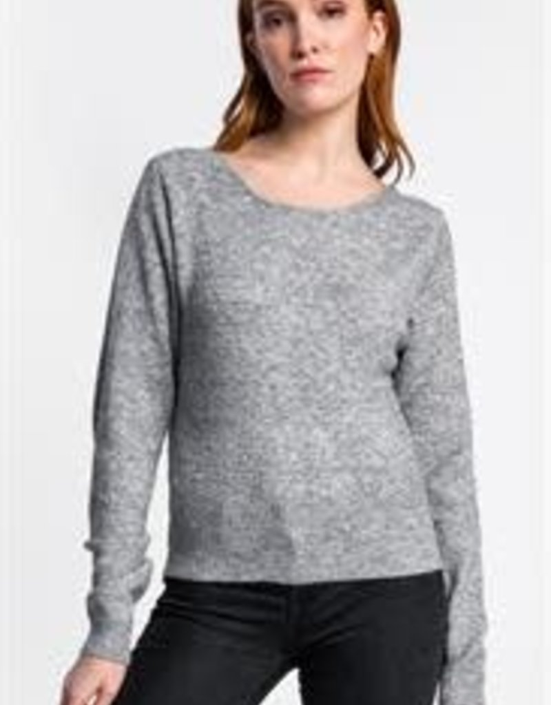 Pink Martini Twisted Sister Cross Back Sweater