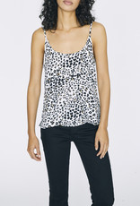 One Love Layering Cami White Leopard