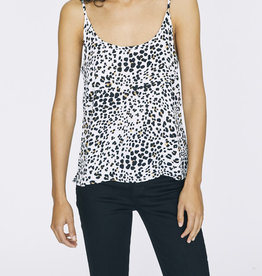 Sanctuary One Love Layering Cami White Leopard