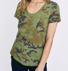 Sanctuary Camo Scoop Tee