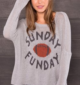 Wooden Ships Sunday Fun Day Crew Sweater