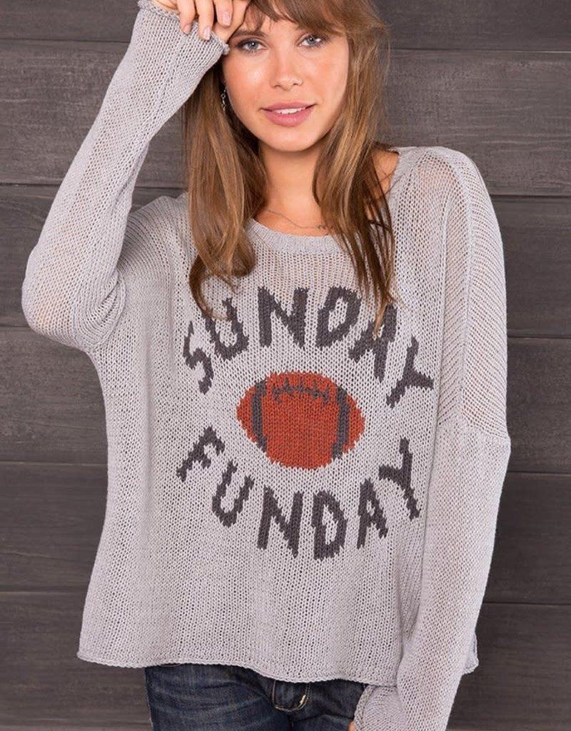 Sunday Fun Day Crew Sweater