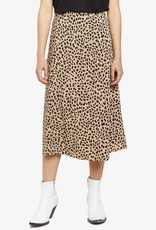 Modern Spots Midi Skirt Brown