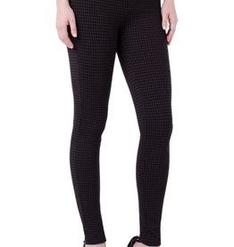 Liverpool Madonna Legging Grid Brown/Black