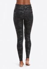 Spanx Faux Leather Legging Camo Black
