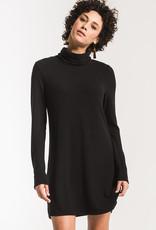Sweater Knit Turtle Neck Dress