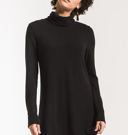 Z Supply Sweater Knit Turtle Neck Dress