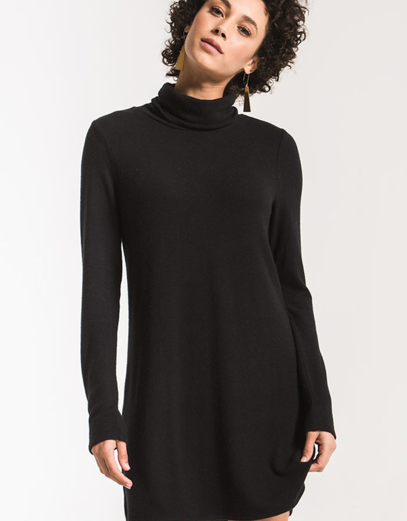 Z Supply Sweater Knit Turtle Neck Dress