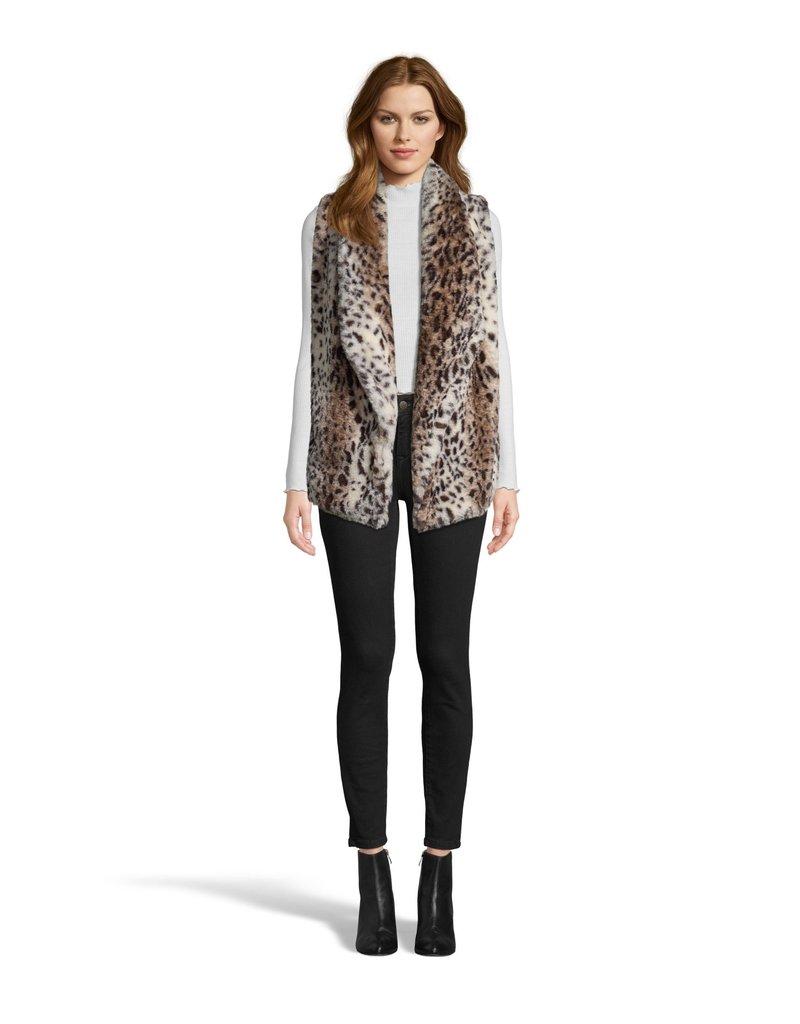 Purr Usual Leopard Fur Vest