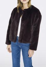 Sanctuary Starry Night Faux Fur Jacket