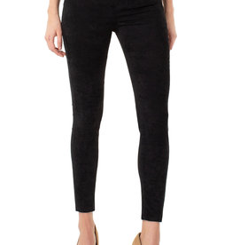 Abby Suede Pant Black