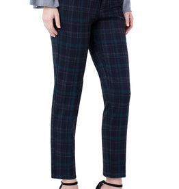 Liverpool Kelsey Knit Trouser Black/Evergreen