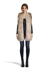 Fur-ther Ado Fur Vest Ivory