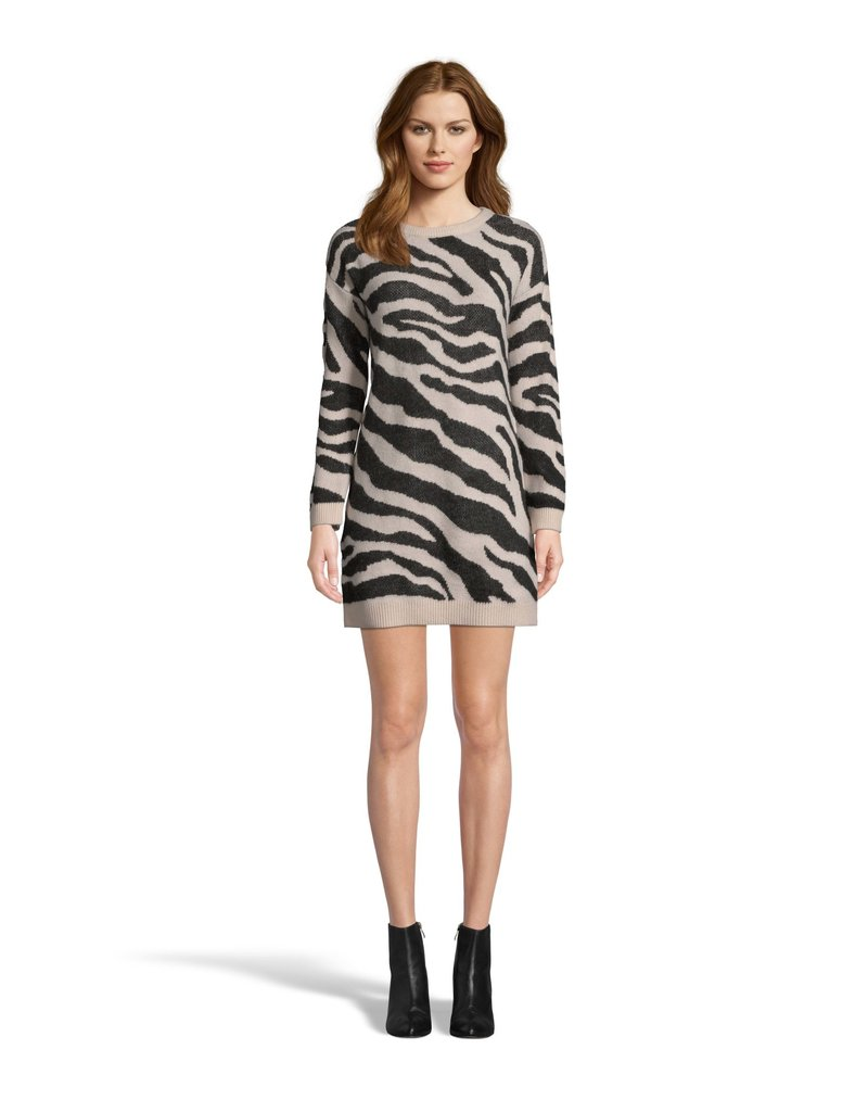 BB Dakota Life is Wild Zebra Sweater