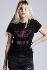 Aerosmith Dream On Tee Black