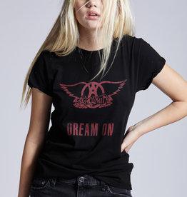 Recycled Karma Aerosmith Dream On Tee Black