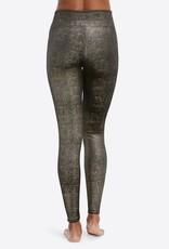 Spanx Velvet Shine Leggings Gold