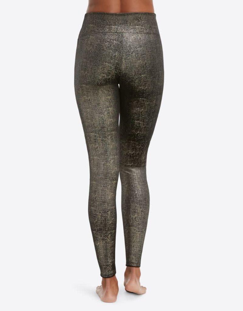 Velvet Shine Leggings Gold