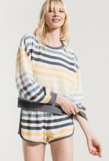 The Rainbow Stripe Pajama Set