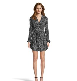 Cat's All Folks Leopard Dress Black
