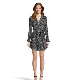 Jack Cat's All Folks Leopard Dress Black