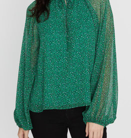 Live It Up Blouse Green