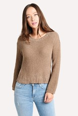 Chenille The Deal Sweater Camel