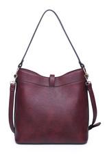 Sueded Pocket Hobo Bag
