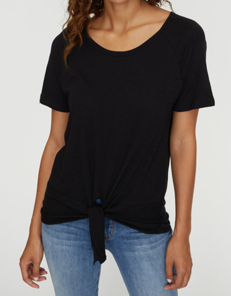 Lou Ruched Tie Tee