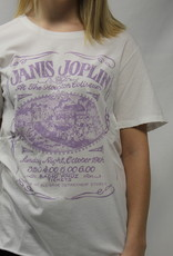 Janis Joplin Tee White