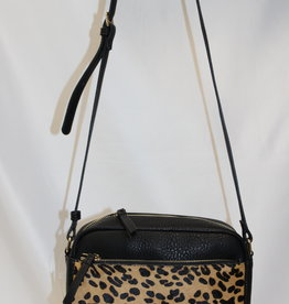 Leopard Print Cross Body Bag