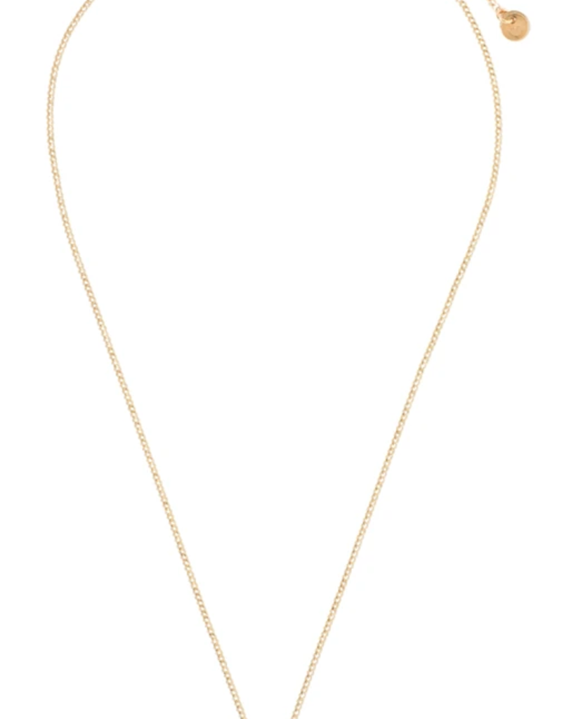 Textured Star Necklace