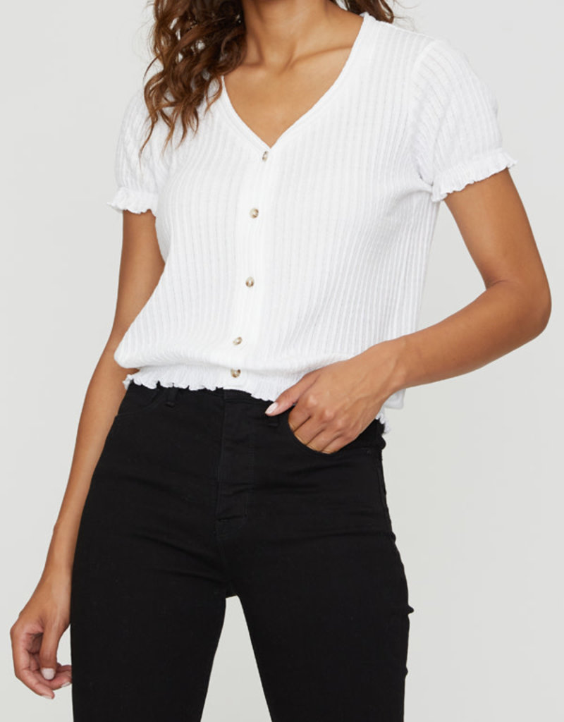 Cut To The Point Tee White