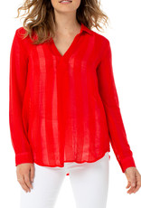 Asymmetrical Popover Red