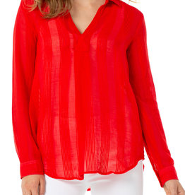 Asymetrical Popover Red