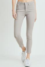 Basic Colored Skinny Stone Grey