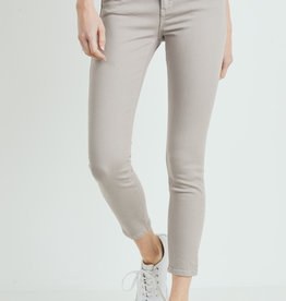 Basic Colored Skinny Stone Grey