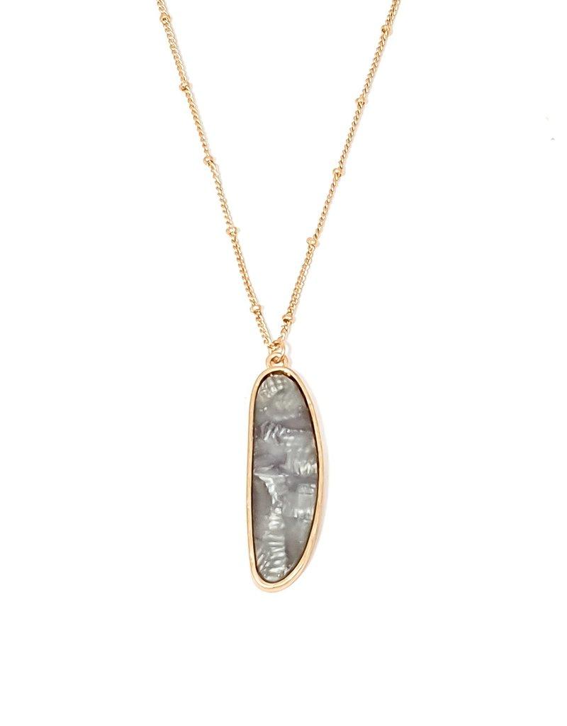 Serena Stone Necklace