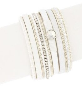 Majorca Leather Wrap Bracelet