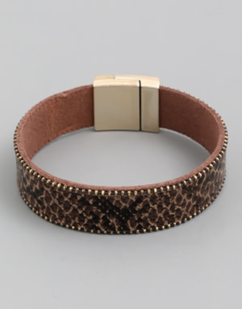 Snake Chain Magnetic Bracelet
