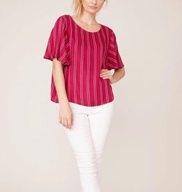 Thing Called Love Blouse Red